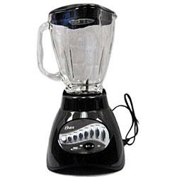 Shop Oster 6864 16 Speed Metallic Black Glass Blender