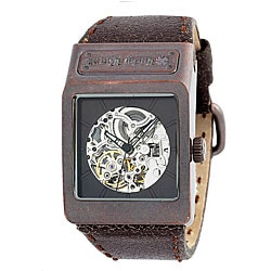 lucky brand men s square brown watch shipping today shipping returns