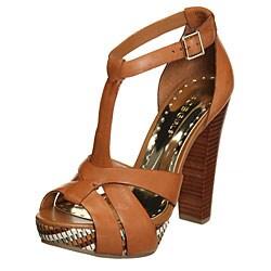 BCBGirls Women's 'Slim' Amaretto High-heel Sandals - Thumbnail 0