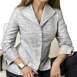 Austin Reed Women S Plus Size Shirt Jacket Overstock 3954623