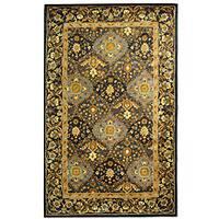 Safavieh Handmade Tabriz Blue Wool Rug (4' x 6')