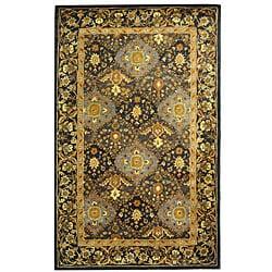 Safavieh Handmade Tabriz Blue Wool Rug - 8'3 x 11' - Thumbnail 0