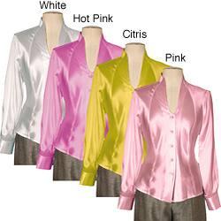 Austin Reed Women S Silk Charmeuse Blouse Overstock 3982373
