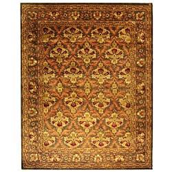 Safavieh Handmade Kerman Sage/ Gold Wool Rug (9'6 x 13'6)