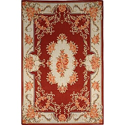 Shop Vintage French Tapestry Red Rug 4 X 6 Free