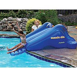 Aviva by RAVE Sports Cosmic Slide Inflatable Pool Slide|https://ak1.ostkcdn.com/images/products/P12020171.jpg?impolicy=medium