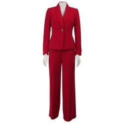 Awesome Ladies In Red! Red Lace To Be Specific Elegant  Apart From The Long Pants, It Is
