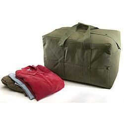 Texsport Olive Drab Canvas Parachute Bag