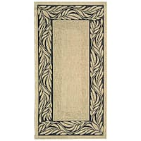 Safavieh Tranquil Natural/ Terracotta Indoor/ Outdoor Rug - 2'7 x 5'