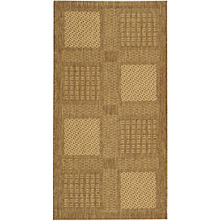 Safavieh Lakeview Brown/ Natural Indoor/ Outdoor Rug - 2'7 x 5'