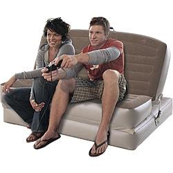Shop Aerobed Convertible Sofa Air Bed Free Shipping