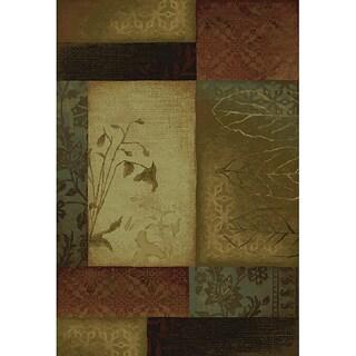 Multicolor-Block Rug (10' x 13')