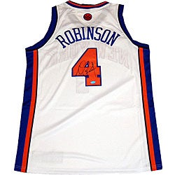 uk availability b8c92 9afd6 Nate Robinson Knicks Home Authentic Jersey | Overstock.com Shopping - The  Best Deals on Basketball