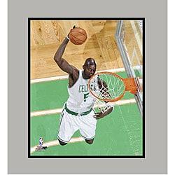 Boston Celtics' Kevin Garnett Matted Photo - Thumbnail 0