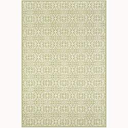 Martha Stewart by Safavieh Bloomery Linden Cotton Rug (3'9 x 5'9)