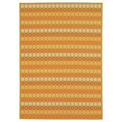 Martha Stewart by Safavieh Sunstripe Cinnamon Wool Rug - 7'7 x 9'10 - Thumbnail 0
