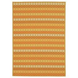 Martha Stewart by Safavieh Sunstripe Cinnamon Wool Rug - 9'1 x 10'1 - Thumbnail 0