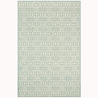 "Martha Stewart by Safavieh Bloomery Aloe Cotton Rug - 8'6"" x 11'6"""