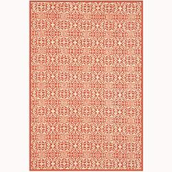 Martha Stewart by Safavieh Bloomery Dogwood Cotton Rug (5'6 x 8'6)