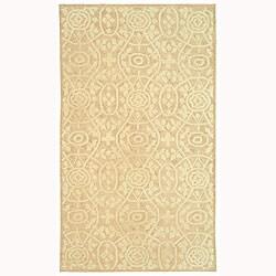 Martha Stewart by Safavieh Bloomery Thistle Cotton Rug - 5'6 x 8'6 - Thumbnail 0