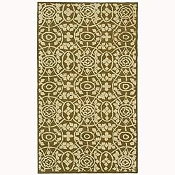 Martha Stewart by Safavieh Bloomery Garden Row Cotton Rug (9'6 x 13'6)