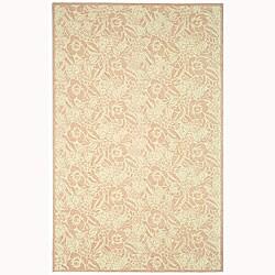 Martha Stewart by Safavieh Fleur Blossom Wool Rug - 9'6 x 13'6 - Thumbnail 0