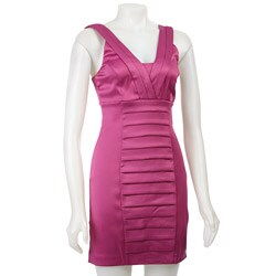 Kensie Women's Pleated Sheath Dress - Thumbnail 0