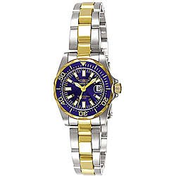 Invicta Women's 7064 Signature Two-tone Watch|https://ak1.ostkcdn.com/images/products/P12067692.jpg?impolicy=medium