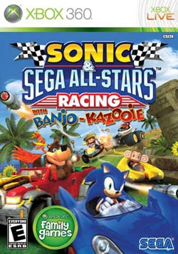 Xbox 360 - Sonic & SEGA All-Stars Racing