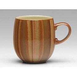 Denby 'Fire Stripes' Large Curved Mug