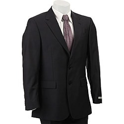 Thumbnail 1, Kenneth Cole New York Men's Navy Wool/ Silk Blend Suit.