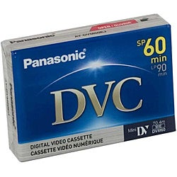 Panasonic 60-minute Mini Digital Video Cassettes | Overstock com Shopping -  The Best Deals on Camcorder Media