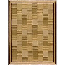 Nourison Arcadia Beige Rug (3'6 x 5'6) - Thumbnail 0