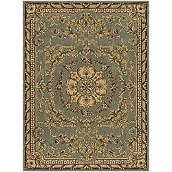 Nourison Arcadia Seafoam/Gold Rug (3'6 x 5'6)
