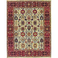 Nourison Millennia Beige Wool Rug - 7'10 x 9'10