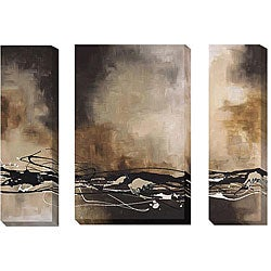 Maitland Tobacco & Chocolate Gallery-Wrapped Canvas Giclee 3 piece Set