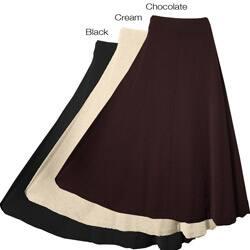 Austin Reed Women S Long Wool Gabardine Skirt Overstock 4074979