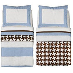 Bacati Metro 4-piece Toddler Bedding Set