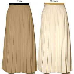 Austin Reed Petite Women S Wool Pleated Long Skirt Overstock 4077619