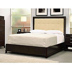 Manhattan Queen-size Bed and Upholstered Headboard
