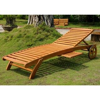 International Caravan Royal Tahiti Multi-Position Chaise Lounge