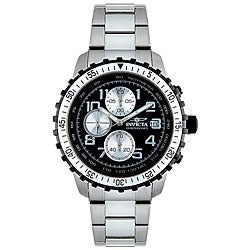 Invicta Men's 6000 'Specialty' Chronograph Stainless Steel Watch