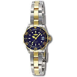 Invicta Women's Pro Diver Two-tone Watch
