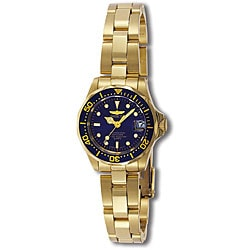 Invicta Women's Pro Diver 18k Goldplated Watch