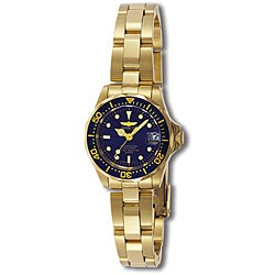 Invicta Women's Pro Diver Goldplated Watch