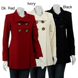 MICHAEL Michael Kors Women&39s Wool Babydoll Coat - Free Shipping