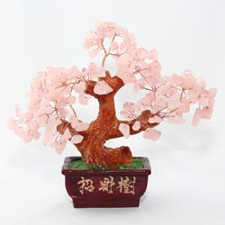 Rose Quartz Bonsai Tree Overstock 4094933