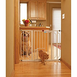 Animal Planet Free Standing Wooden Pet Gate 15657726