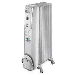 Thumbnail 1, DeLonghi Oil-filled Radiator with ComforTemp Technology.