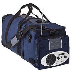 Thumbnail 1, Accordian Expandable Music Cooler with AM/FM Radio/ MP3.